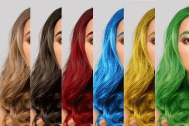 【Photoshop】髪の毛の色を自由に変える方法