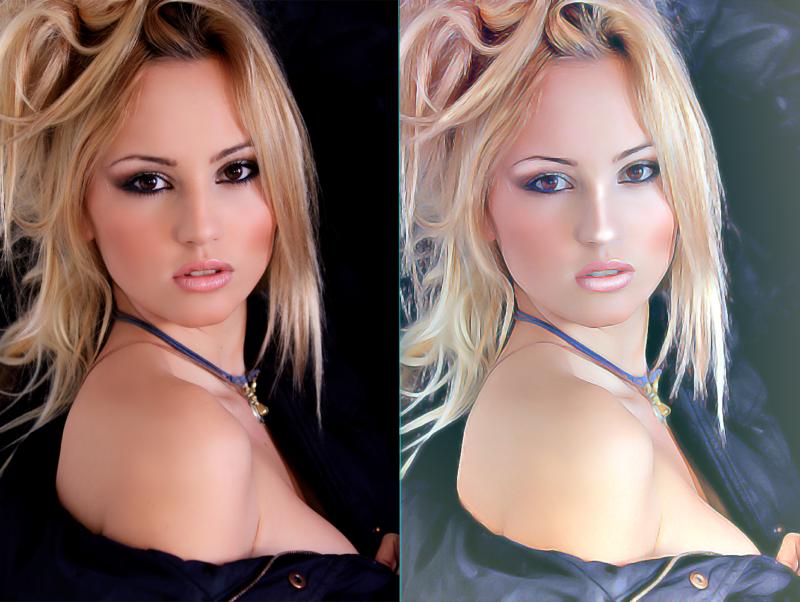 【Photoshop】写真をデジタルペイント風に加工する方法