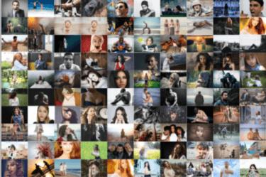 【Photoshop】複数の画像を「自動処理」で一度に並べる方法