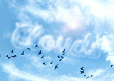 【Photoshop】文字を雲のように表現する。雲文字作成方法。