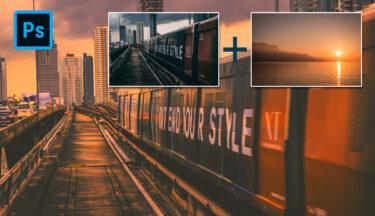 【Photoshop】ほかの画像のカラーを読み込み適用させる方法